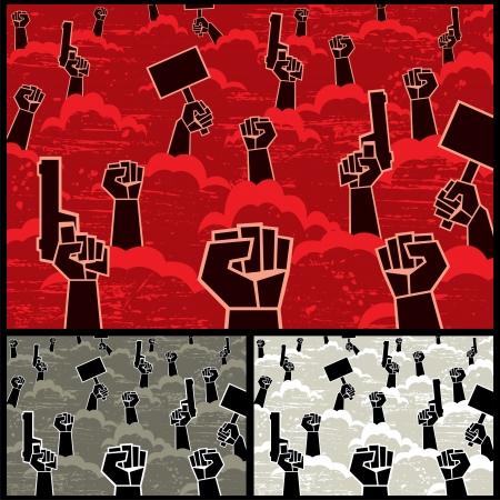 rebeldia: Cuadro abstracto de la rebelión