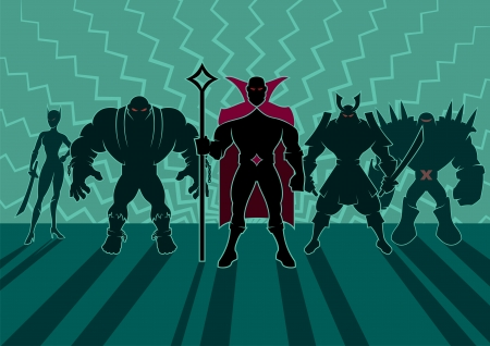 villain: Team of heroes
