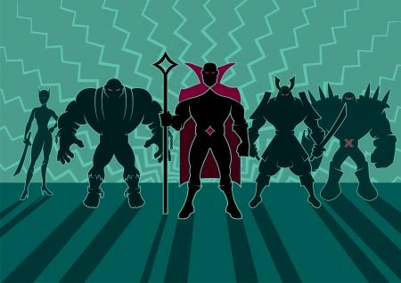 villain: Team of heroes