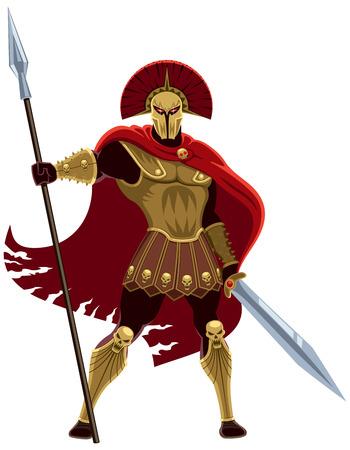 Ares, god van de oorlog Geen transparantie en gradiënten
