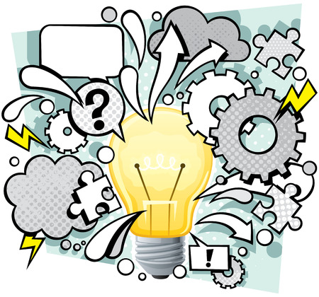conceptual: Conceptual illustration for idea.