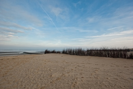 german ocean: The picture shows a beach at the North Sea.