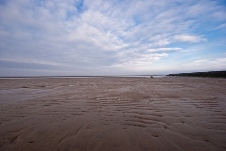 The picture shows the Wadden Sea at the North Sea. Stock Photo - 11919951