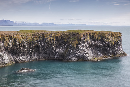 unaffected: The picture shows the rocky coast near Arnarstapi, Iceland.