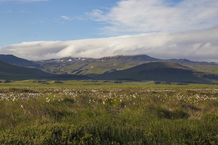 unaffected: The picture shows a mountain landscape in Iceland.