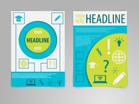 publisher: Abstract Science Brochure designtemplate