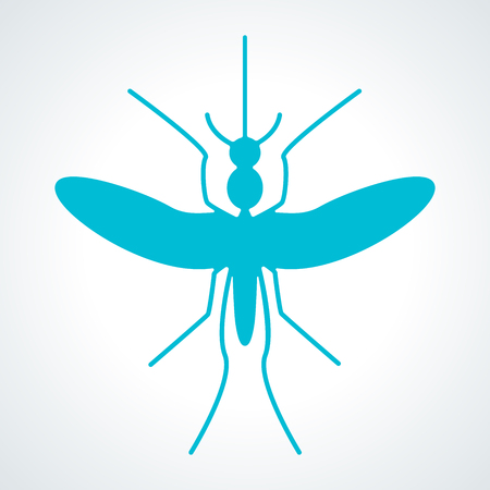 aedes: Silhouette of mosquito aedes. Mosquito sign and icon. Zika virus and malaria Outbreak and Travel Alert infographics. Illustration