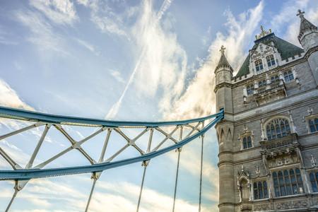 Londres tower bridge fond Banque d'images - 92051392