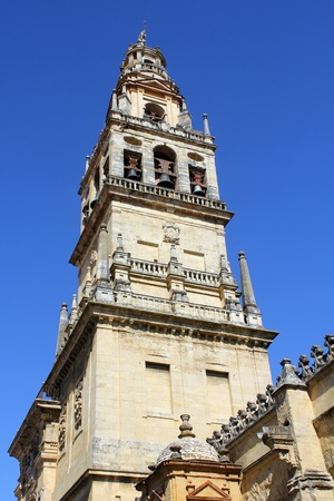 jewry: bell tower of the mosque of cordoba