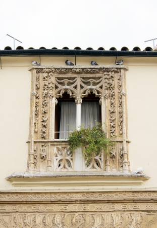 Balcony of an old house in Cordoba - Spain Stock Photo - 17423208