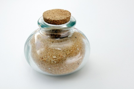Jar of sand Stock Photo - 18575958