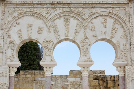 reasons: Ja far home in the archaeological site of Madinat al-Zahra in Cordoba - Spain