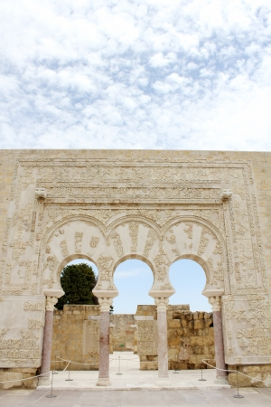 caliphate: Ja far home in the archaeological site of Madinat al-Zahra in Cordoba - Spain