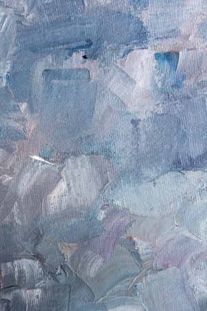 Artistic blue paint texture photo