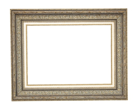 Picture frame made of carved wood Stock Photo - 19600660