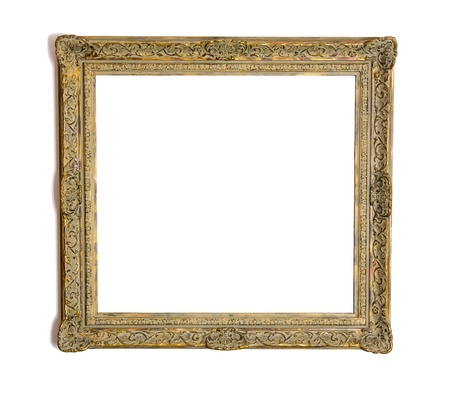 Picture frame made of carved wood Stock Photo - 19600657