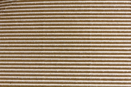 Corrugated cardboard texture photo