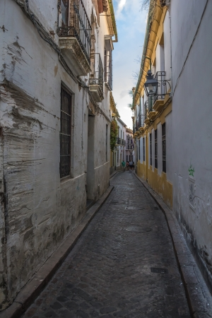 jewry: Jewry Street in Cordoba at sunset - Spain