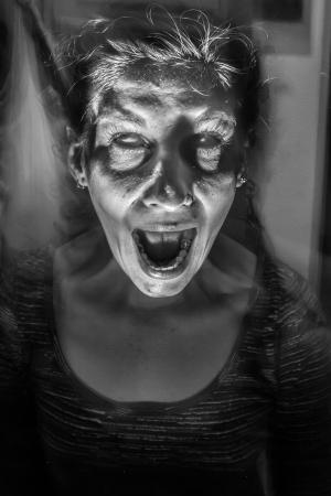 Women possessed Stock Photo