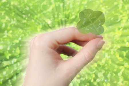 three leaved: Four leaf clover