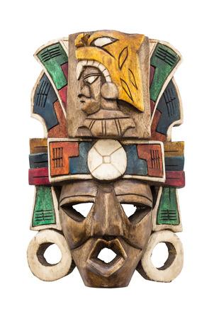 cultura maya: Máscara maya