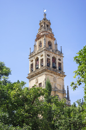 Tower of the mosque in Cordoba  Spain photo