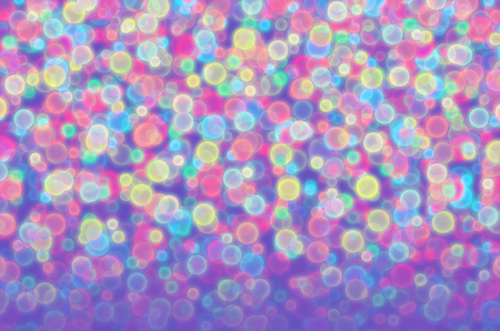 Abstract illustration of blurred colored balls Foto de archivo - 105828756
