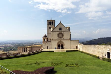Basilica of St. Francis in Assisi, Umbria - Italy