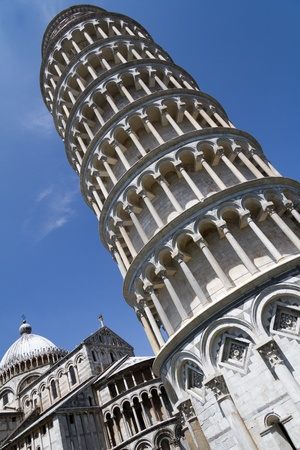 campo dei miracoli: The leaning tower of Pisa