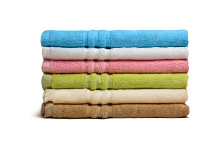 terry: Stack of the multicolored towels