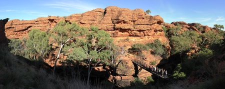 Panoramic Kings Canyon, NT, Australia