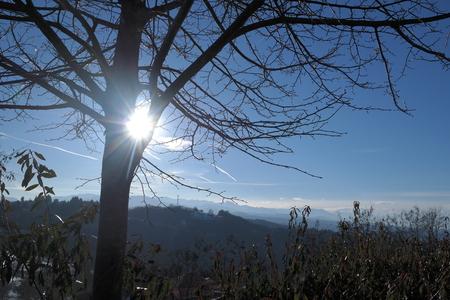 blu sky: hidden sun