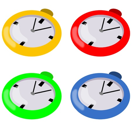 Clocks Stock Vector - 15377830