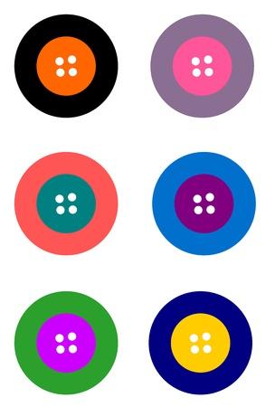 textil: Colorful Buttons