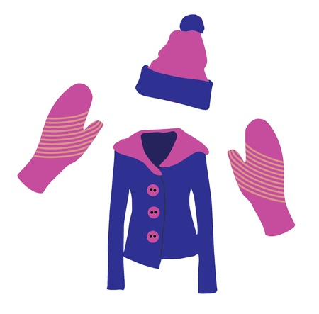 Winter Clothes Stock Vector - 15561277