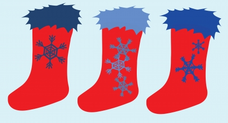 Christmas Socks Stock Vector - 15576919