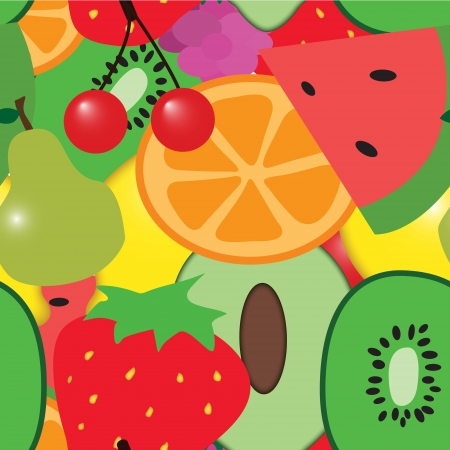 Fruit repeating pattern