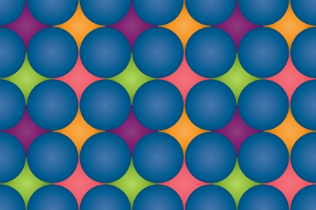 Spheres repeating pattern Stock Vector - 16132520