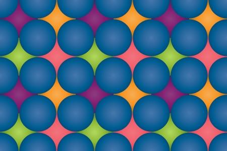 Spheres repeating pattern Stock Vector - 16132520