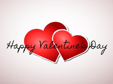 Valentine hearts Stock Vector - 17385366