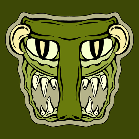mutant: stylized letter T monster mutant