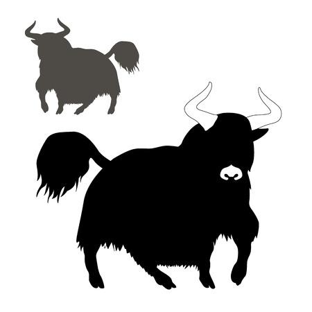 야크 산 황소
