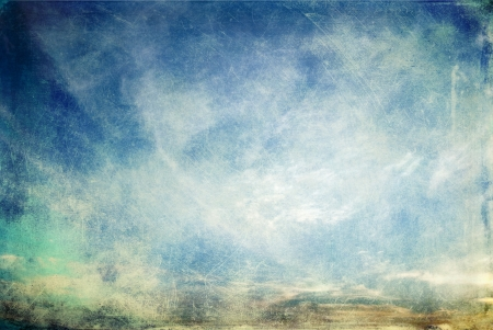 scratchy: Abstract scratchy grunge sky