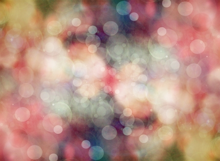 Abstract holiday background, beautiful shiny Christmas lights, glowing magic bokeh photo