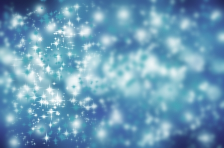 Blue Abstract background  Sky with stars  Stock Photo