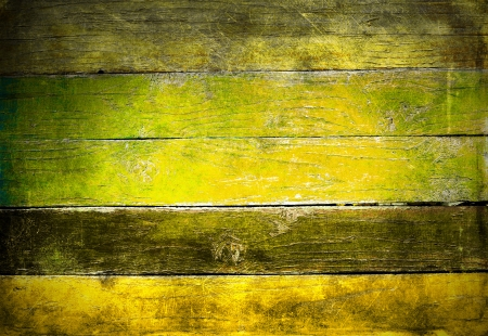 Weathered grunge painted wooden boards background photo