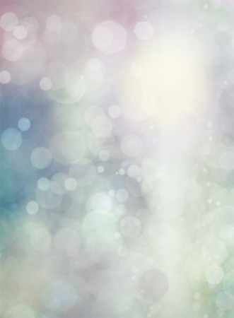 Abstract holiday background, beautiful shiny Christmas lights, glowing magic bokeh Banque d'images