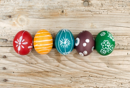 egg plant: Huevos de Pascua Foto de archivo