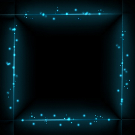 neon color: Abstract technology background