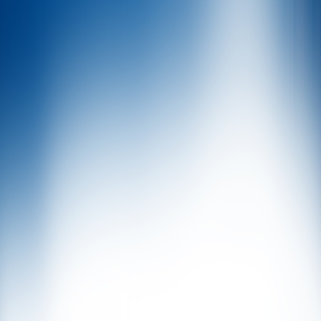 on white background: Smooth blue abstract background